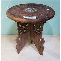 HIGHLY CARVED PLANT STAND
