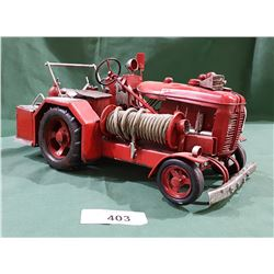 TIN FIRE ENGINE TRACTOR