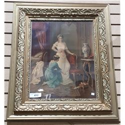 GILT FRAMED VINTAGE PRINT