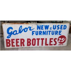GABOR NEW & USED FURNITURE SIGN