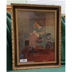 VINTAGE GILT FRAMED PRINT