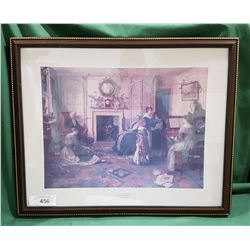 "FRAMED PRINT ""HOME SWEET HOME"" BY WALTER SADLER"