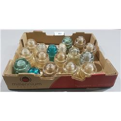 BOX LOT VINTAGE INSULATORS