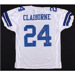 Morris Claiborne Signed Cowboys Jersey Inscribed