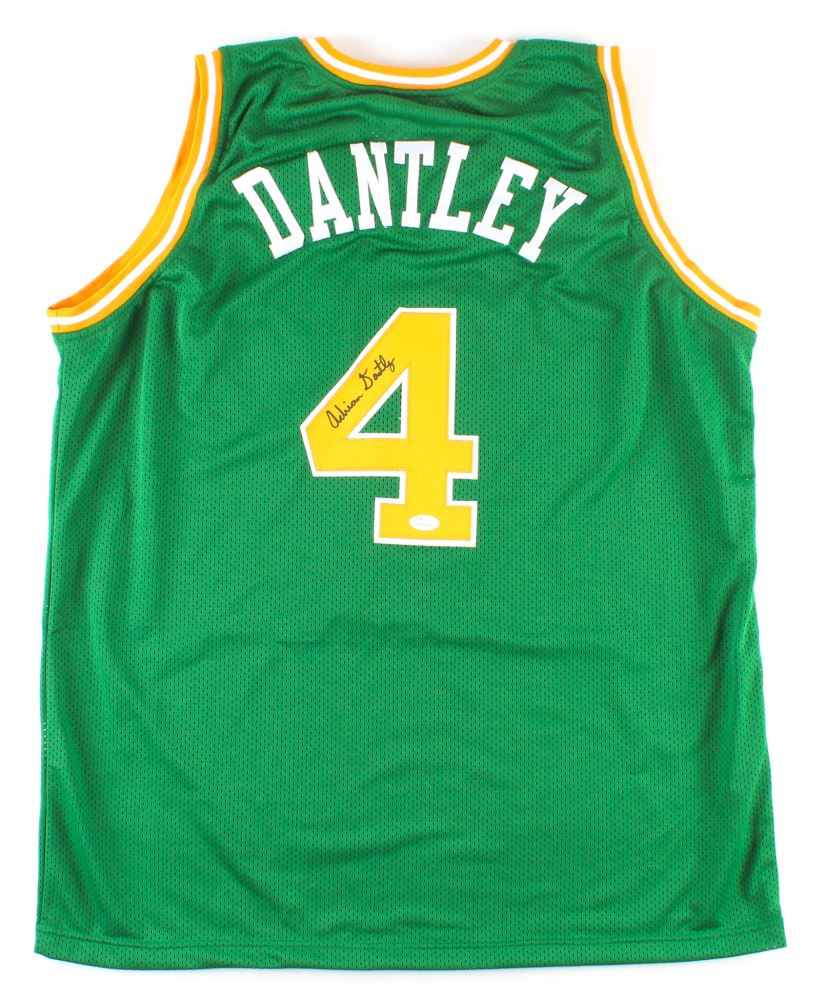 Image 1   Adrian Dantley Signed Jazz Jersey (JSA COA) e623bb7b1