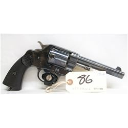 Colt New Service Hand Ejector Revolver