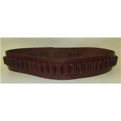 THREE LEATHER AMMO BELTS