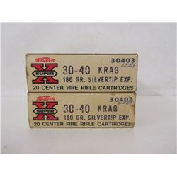 40 ROUNDS OF 30-40 KRAG