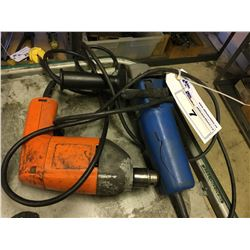 ELECTRIC DRILL AND GRINDER
