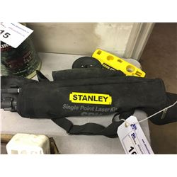 STANLEY SINGLE POINT LASER LEVEL KIT