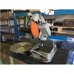 ELUMATEC TYPE MGS72-30 METAL CHOP SAW WITH TABLE