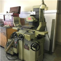 KENT KGS-200 6'' X 14'' MAGNETIC CHUCK HYDRAULIC SURFACE GRINDER