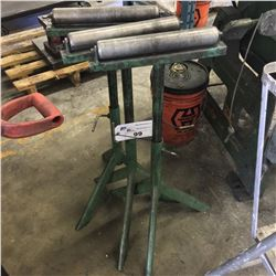 3 ROLLER FEED STANDS