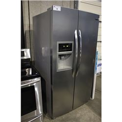 STAINLESS STEEL FRIGIDAIRE GALLERY TWO DOOR FRIDGE/FREEZER