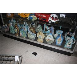 COLLECTION OF JIM BEAM U.S. GEOGRAPHY VINTAGE WHISKEY BOTTLES