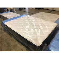 QUEEN SIZED EUROTOP SERTA MATTRESS WITH BOX SPRING