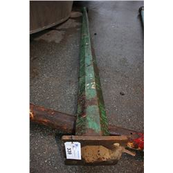 APPROX. 12'4 ANTIQUE LIGHT POST