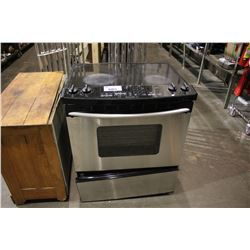 KITCHENAID SUPERBA STAINLESS STEEL OVEN - FOR PARTS OR REPAIR