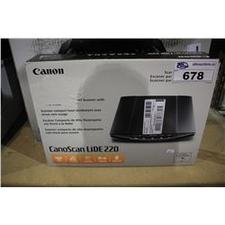 CANON CANOSCAN LIDE 220 COLOR IMAGE SCANNER