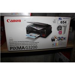 CANON PIXMA G3200 ALL IN ONE PRINTER WITH REFILLABLE INK SYSTEM