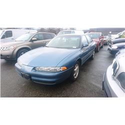 1998 OLDSMOBILE INTRIGUE, BLUE, 4DRSD, GAS, AUTOMATIC, VIN#1G3WS52K3WF318488, 137,337KMS,