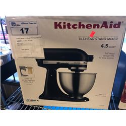 KITCHENAID TILT-HEAD 4.5 QUART STAND MIXER