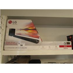 LG 100W 2.1 CH SOUND BAR WITH WIRED SUBWOOFER