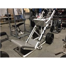 LEG PRESS MACHINE WITH 520LBS. WEIGHT