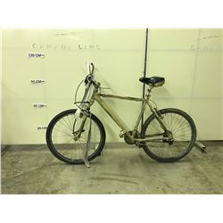 SPRAY PAINTED  21 SPEED, FRONT SUSPENSION MOUNTAIN BIKE