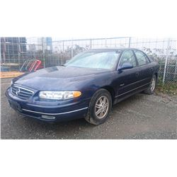 2000 BUICK REGAL, 4DRSD, BLUE, GAS, AUTOMATIC, VIN#2G4WB52K1Y1190030, 129,603KMS,