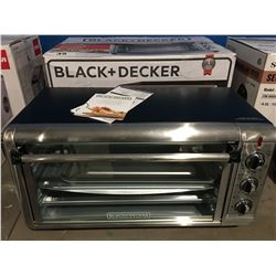BLACK & DECKER EXTRA WIDE CONVECTION COUNTER TOP OVEN