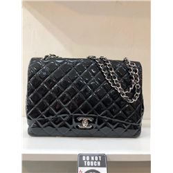 Chanel Black Patent Leather