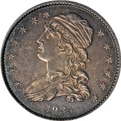 1835 Capped Bust 25¢. B-2. Rarity-2. MS-62 NGC.