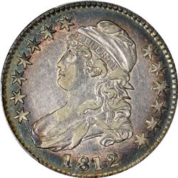 1812 Capped Bust 50¢. O-105a. Rarity-2. EF-45 PCGS.