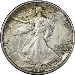 Choice Uncirculated 1916-S Half Dollar. 1916-S Walking Liberty 50¢. MS-64 PCGS.
