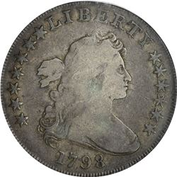1798 Heraldic or Large Eagle $1. B-19, BB-106. Rarity-4. VG-10 PCGS.