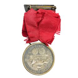 Illinois. Chicago. 1892-1893 World's Columbian Exposition. Trio Manhattan Day and Chicago Day Medals