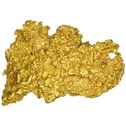 Large Australian Gold Nugget. Gold Nugget. Australia. 1.82 Troy Oz
