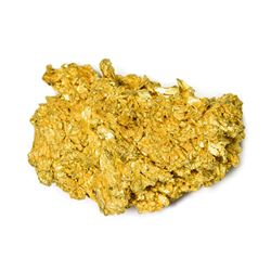 Gold Nugget. Nevada. Two Nuggets, Total Weight 1.89 Oz.