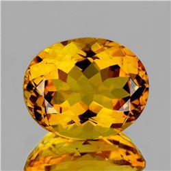 NATURAL INTENSE GOLDEN YELLOW CITRINE [FLAWLESS-VVS]