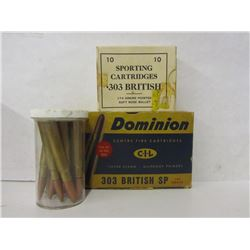 32 Rounds of 303 British