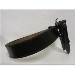 Revolver Holster and Leather Belt