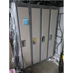 "One 4 Bank Locker 48"" x 72"""
