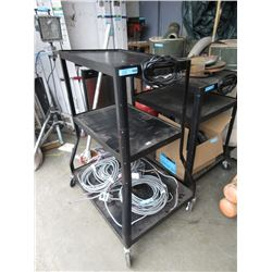 Rolling Cart with Power Outlet