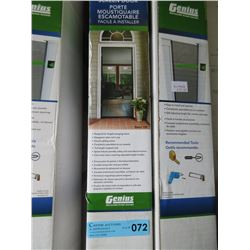 Genius Retractable Screen Door - 78.5in x 80.5 in