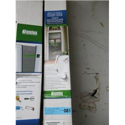 Genius Retractable Screen Door (78.5in x 80.5in)