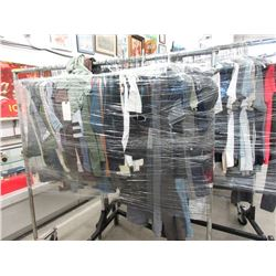 Rack of Assorted New Pants & Shirts