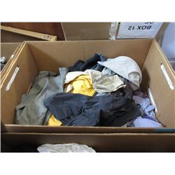 15 Cubic Foot Box of Assorted Clothing