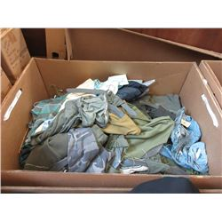 15 Cubic Foot Box of Assorted Shirts & Pants