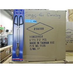 2 Cases of New Canning Tongs - 72 Per Case